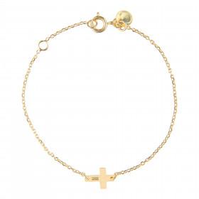 Bracelet chaine croix