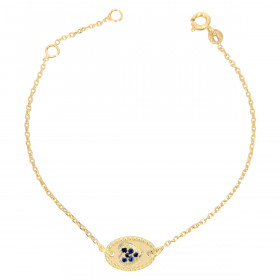 Bracelet chaine Agathe coeur