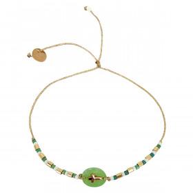 Bracelet Macaron pistache