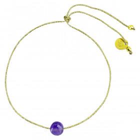 Bracelet fil pierre fine...