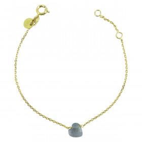Bracelet chaine Marion cœur