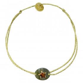 Bracelet étoile plaquée or