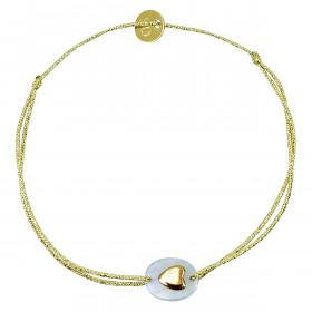 Bracelet mini pierre coeur...