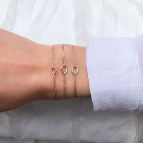 Bracelet with a ring on...