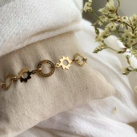 Volubilis chain bracelet