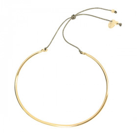 Smooth bangle bracelet