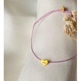 Bracelet Little gold heart