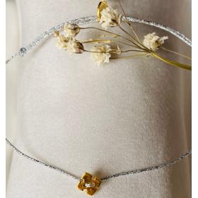Bracelet Little croix or
