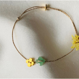 Bracelet Little clover duo