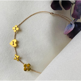Bracelet Little multi gold