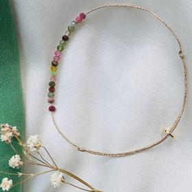 Bracelet Jade Mix Tourmaline