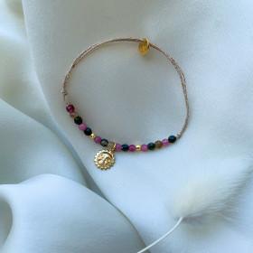 Bracelet tourmaline soleil