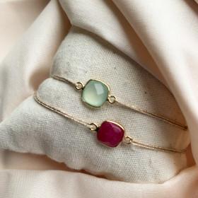 Bracelet pierre sertie