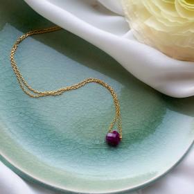 Necklace chain Marion cœur