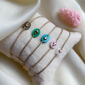 Bracelet Praline croix