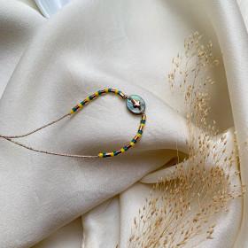 Bracelet Macaron citron