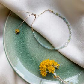 Bracelet Dolly aigue marine