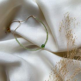 Bracelet Dolly péridot
