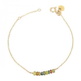 Bracelet barette saphir...