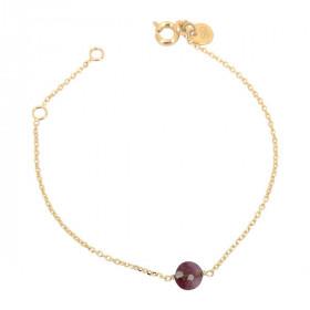 Bracelet  chaine tourmaline...